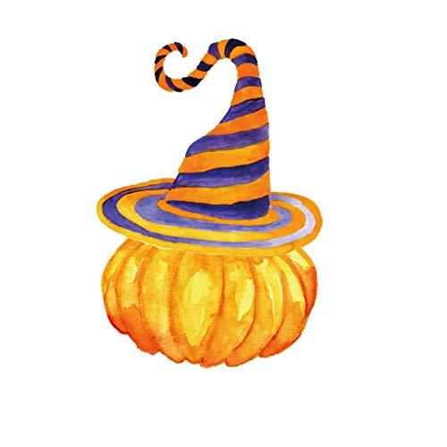 Myspace 2019 Neueste Dekoration für Halloween Halloween Kürbis Wandaufkleber Wohnzimmer Schlafzimmer Dekor Aufkleber Wohnzimmer DIY (A)