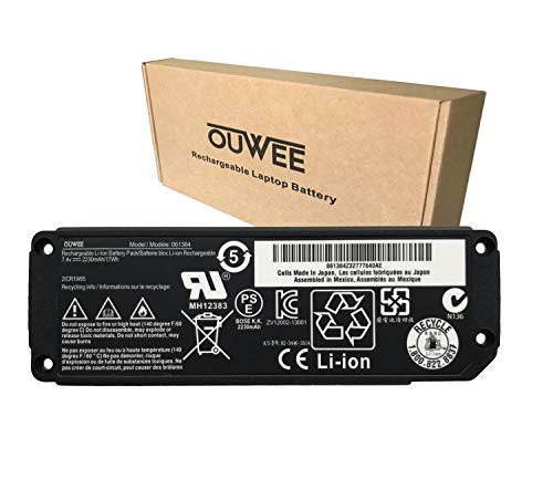 OUWEE 061384 Speaker Battery Compatible with Bose SoundLink Mini Bluetooth Speaker one Bose SoundLink Mini one I SoundLink Mini Bluetooth Speaker I Series 063404 061385 061386 063287 7.4V 17Wh 2230mAh