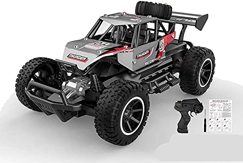 Moerc 1/20 Aleación 4WD High Speed RC Cars Off-Road Independent Suspension 2.4 GHz Control de Radio Impermeable Off-Road Truck Dune Buggy Hobby Juguetes para niños Adultos