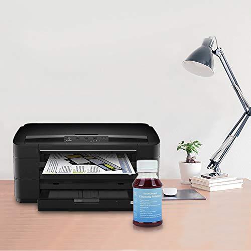 Inkjet Printers Printhead Cleaner for WF-7720 WF-7710 WF-7610 WF-7620 WF-7110 WF-2660 WF-2630 WF-2760 WF-2750 WF-3640 WF-3620 WF-2650 XP-430 XP-330 XP-420 XP-410 XP-220 XP-320-3.4oz Cleaning Kit