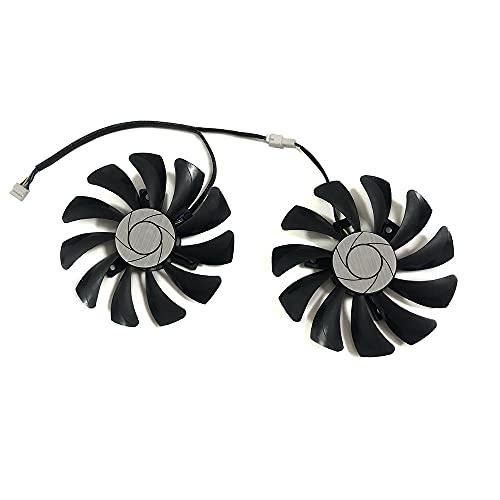 2 unids/Set P106 HA9010H12F-Z GPU VGA Cooler para MSI para GeForce GTX1060 GTX-1060-6GT-OC INNO3D GTX1060 6GB Video Gráficos de Video