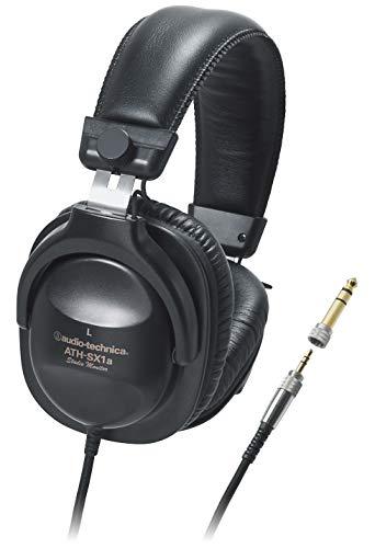 audio-technica スタジオモニター ステレオヘッドホン ATH-SX1a 日本製 ブラック