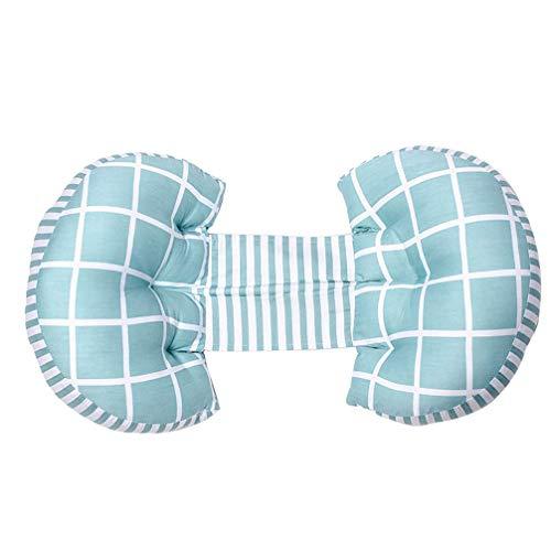 Zwangerschap Pillow Cotton Full Body kussen for zwangere vrouwen Borstvoeding Kussens Full Body Kussen Ondersteuning en babyvoeding, 09 Huangwei7210 (Color : 9)