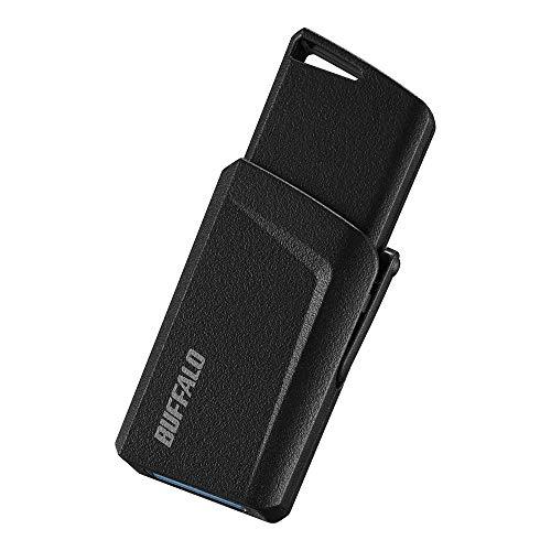 BUFFALO USB3.1(Gen1)プッシュスライドUSBメモリ 32GB ブラック RUF3-SP32G-BK