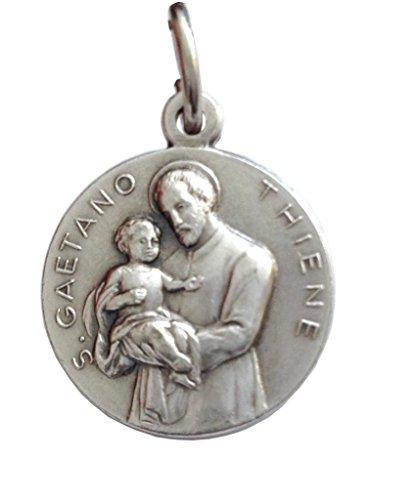 Medaille von Heiliger Cajetan von Thiene - Schutzheiligen Medaillen