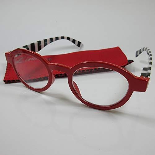LINDAUER Klassische Lesebrille +3,0 Fertigbrille SIE & IHN Lesehilfe Flexbügel