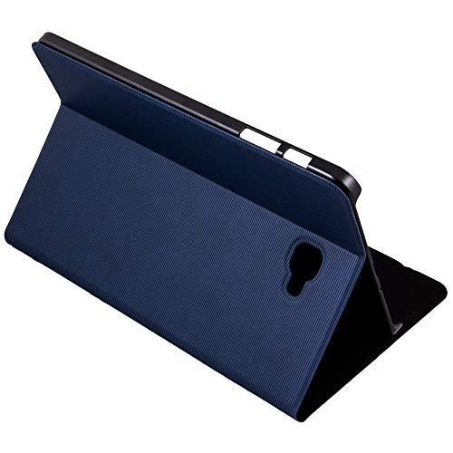 Silver HT - Funda para Samsung Galaxy Tab A de 10.1' (Tab A 10 SM-T580 y SM-T585) Azul Oscuro