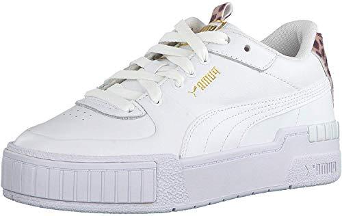 Puma Cali Sport Cheetah - Zapatillas deportivas para mujer, color Blanco, talla 39 EU