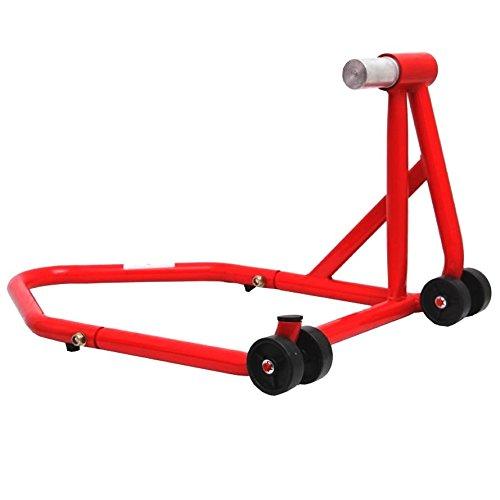 Cruizer Cavalletto Posteriore Monobraccio Moto Ducati, Rosso, Taglia 21.7/25.5 mm