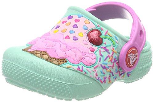 Crocs Crocs Fun Lab Clog Kids, Unisex - Kinder Clogs, Blau (Mint/party Pink), 19/20 EU
