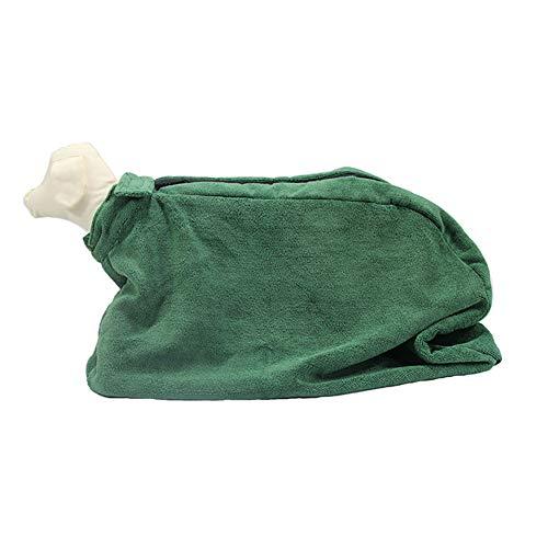 WANGLXST handdoek voor honden super absorberende hondenhanddoek, machinewasbaar, hondenmicrovezel handdoek, hondenbadhanddoek, cadeau voor honden