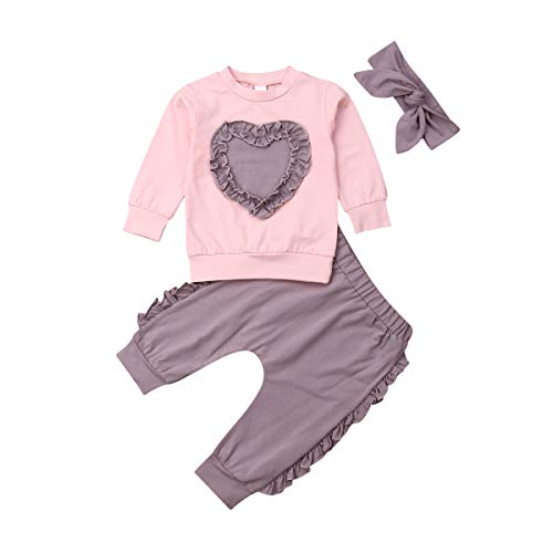 Newborn Infant Baby Girl Valentine's Set