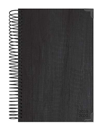 """bloom daily planners 2019-2020 HARDCOVER Academic Year Day Planner - Passion/Goal Organizer - Monthly & Weekly Dated Calendar Agenda Book - (August 2019 - July 2020) - 6"""" x 8.25"""" - Black"""