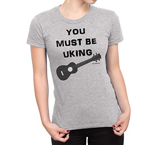 Free Will Shirts You Must Be Uking Ukulele - Womens Music Organic Cotton T-Shirt