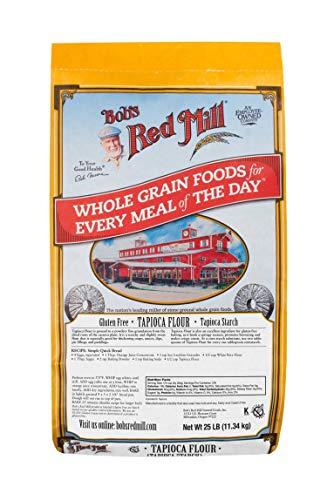 Bob's Red Mill Bulk Tapioca Flour, Gluten Free, 25 Pound