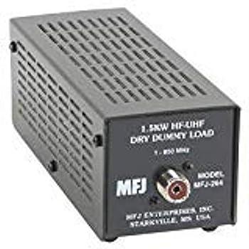 Mfj-264 Dry Dummy Load 1.5kw 0-600 Mhz  SO-239 Input