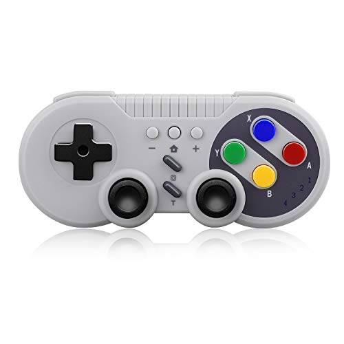 SUNJOYCO Wireless Pro Game Controller, USB Classic Gamepad Compatible with Nintendo Switch, Windows PC