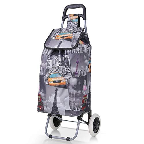 Hoppa 47L Einkaufstrolle leichte Einkaufswagens Einkaufstasche auf RŠdern (StŠdte)