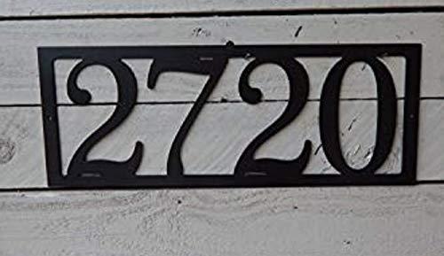 EvyAnn Designs House Number, Mailbox Number, Metal House Number, Mailbox Number, Metal Art, Address Number, Number Sign, Door Number, House, HN1073