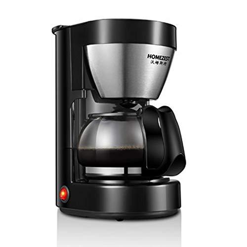 DJK Mini hogar automático de la máquina de café Americano Taza 5, 600 ml de té máquina diseño Compacto Goteo para la Oficina en casa
