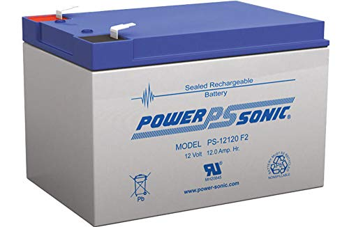 Powersonic PS-12120F2 is a good option for a power wheelchair battery