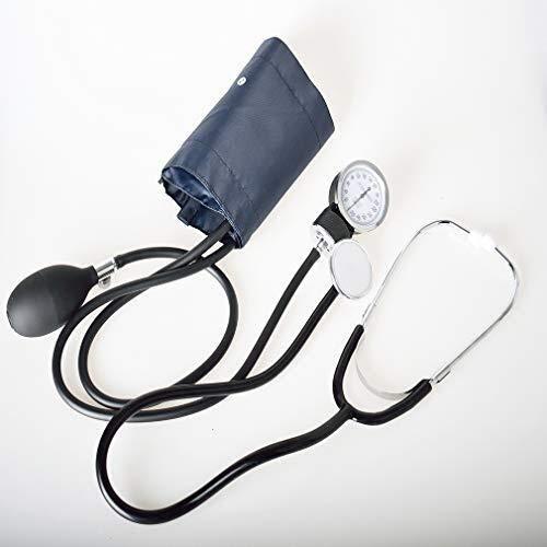 YIGEYI Medizinisches Stethoskop Sphygmomanometer Und Manuelle Blutdruckmessgerät Home Health Tester, Geeignet for Krankenschwestern und Erwachsene