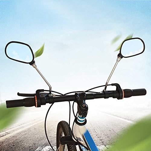 Espelhos de bicicleta, espelho retrovisor de ciclismo Refletores de espelho retrovisor para scooter de oficina mecânica