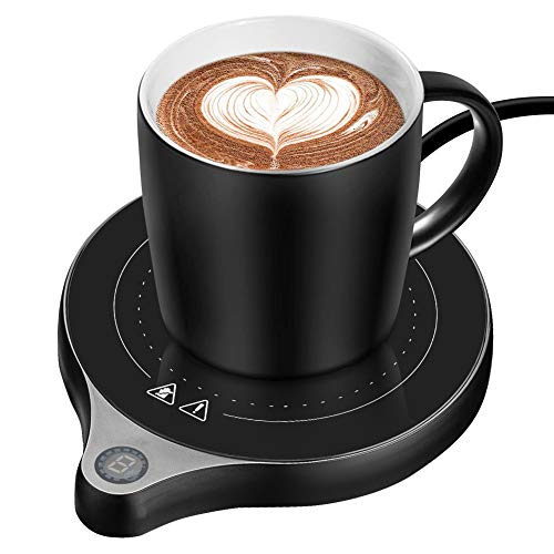 Coffee Mug Warmer Welltop Electronic Cup Beverage Warmer with 5 Adjustable...