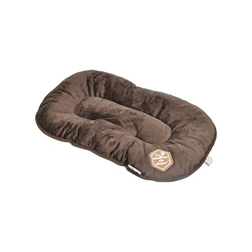 Love Story, Collection Patchy Coussin Flocon Pour Chien, Patchy Chocolat, 53 x 32 x 5 cm