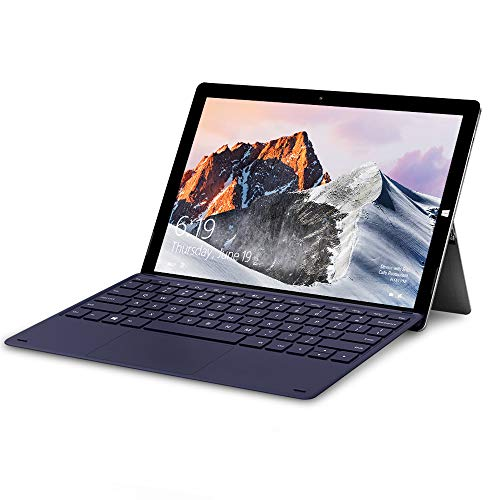 TECLAST X6 PRO 2-in-1 Laptop Tablet 2880x1920 FHD IPS 12.6 Inch Touchscreen with Adjustable Stand 8GB RAM 256GB ROM Windows Tablets Up to 2.4GHz Intel Core M3-6Y30 WiFi BT4.2 Type-C Windows 10