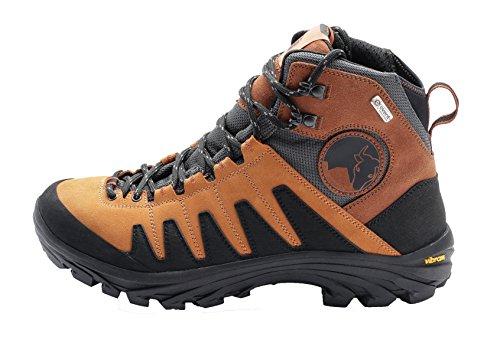Mishmi Takin Kameng Mid Event Waterproof Hiking Boot (EU 40 / US Women 9, Sunset Orange)