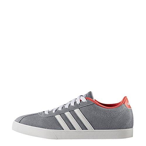 adidas Courtset W – Sportschuhe für Damen, Grau – (Grau/FTWBLA/Rojimp) 36 2/3