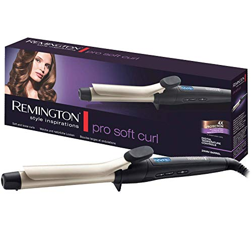 Remington Pro Soft Curl Ci6325 - Rizador de pelo, Pinza de 25 mm,...