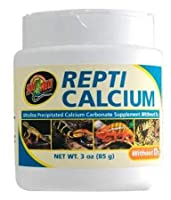food supplement reptiles and amphibians calcium without vitamin D3 without phosphorus