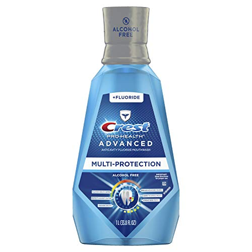 Crest Pro-Health Advanced Mouthwash with Extra Deep Clean