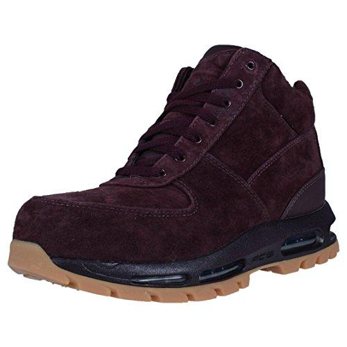 Nike Mens ACG Air Max Goadome Leather Boots Deep Burgundy 599474-600 Size 9
