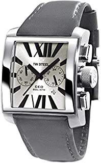 TW Steel Watch for Men, Leather, CE3003