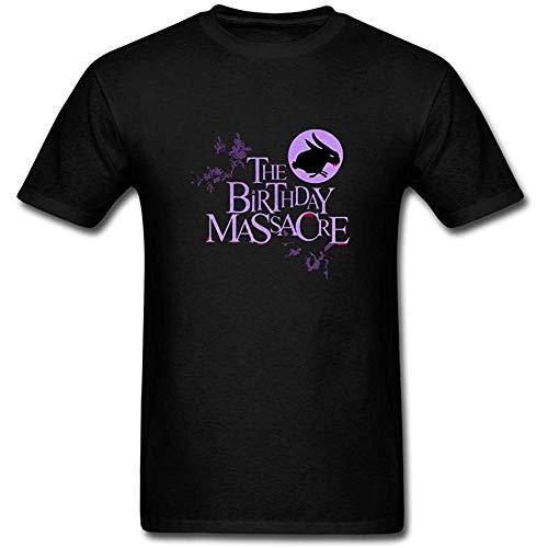 Men's The Birthday Massacre Band Synth Rock Logo T-Shirt