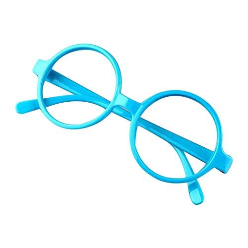 VIccoo brilmontuur, retro nerd stijl schattige baby rond brilmontuur geen lenzen candy kleur kunststof moeder dochter cosplay party kostuum eyewear - 6#