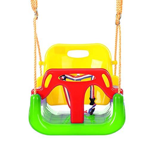 MHO kinderschommel, schommelstoelen voor kinderen buiten binnen huis 3 in 1 peuter schommel