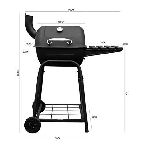41akTzY2aHL. SL500  - Hong Yi Fei-Shop BBQ Grill Großer Außengrill Holzkohlegrill Mehr als fünf Außengrillöfen holzkohlegrill