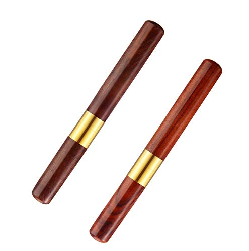 Kikeep Stainless Steel Ice Pick with Safety Wooden Handle for Kitchen Ice Pick with Wooden Handle and Sheath Kitchen Tool 2 Pack