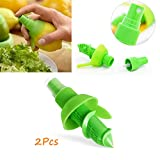 SmartRing 2pcs/Set Lemon Sprayer Kitchen Gadgets Orange Juice Citrus Spray Manual Fruit Juicer