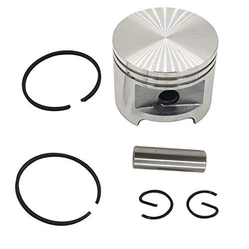 Cancanle 49 mm de montaje de pistón clip de anillo de pistón para motosierra STIHL 039 MS390