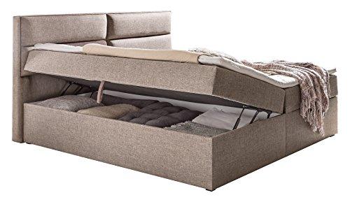 Wimex Bett/ Funktionspolsterbett Mercura, Liegefläche 180x200 cm, Beige