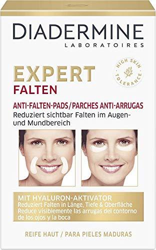 Diadermine - Parches Antiarrugas de Diadermine, 1 paquete de 12 parches, para pieles maduras, Corrige las arrugas en longitud, profundidad y superficie