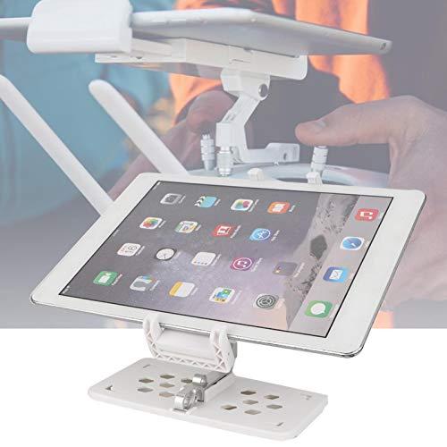 Soporte de montaje Rc Montaje gratuito No es fácil de deformar Rotación de 360 °, para teléfonos inteligentes Tabletas de 9,7 pulgadas Práctico accesorio Rc(white)