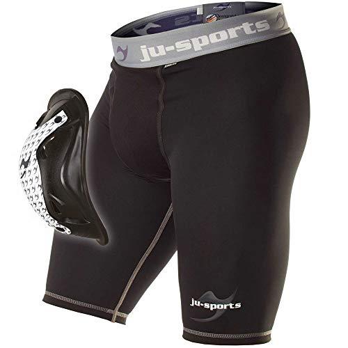 Ju-Sports Compression Base Pantaloncini con Motion Pro Flex Cup, XL