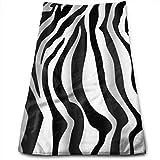 magic ship Textur Tiger Zebra White Stripe Handtücher Geschirrtücher Ultraweiche und saugfähige Badetücher - Große Duschtücher, Hotelhandtücher und Sporttücher 12 x 27,5 Zoll