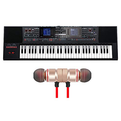 For Sale! Roland E-A7 61-key Arranger Keyboard Includes Free Wireless Earbuds - Stereo Bluetooth In-...